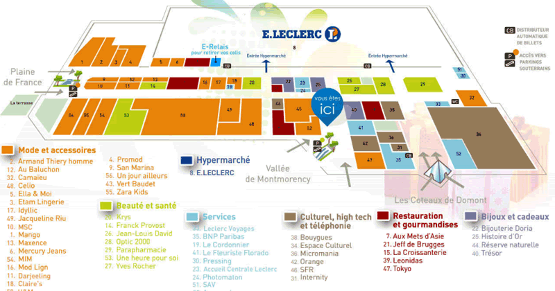 Bornes fidélisation clients pour centres commerciaux Eurocommercial