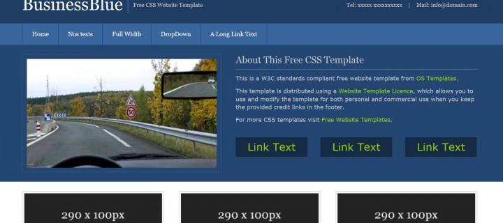 Site de CMS administrable thème code de la route
