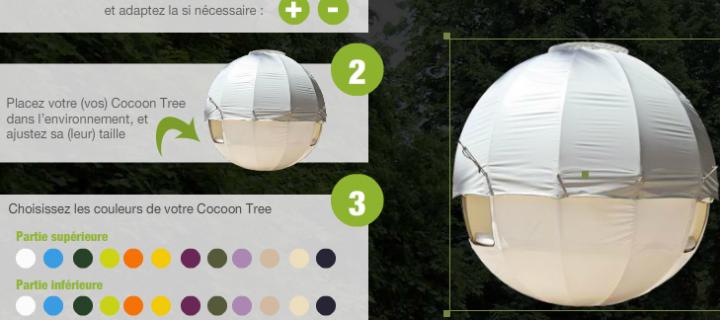 Module de visualisation pour tentes Cocoon