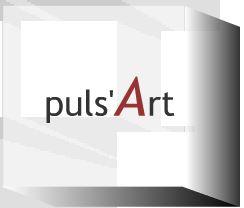 Proposition design 'cube' pour site Puls'Art