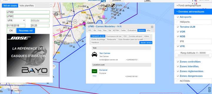 Protégé: Application web de données aéronautiques