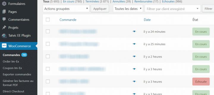Scripts d'automatisation de tâches Woocommerce sur WordPress