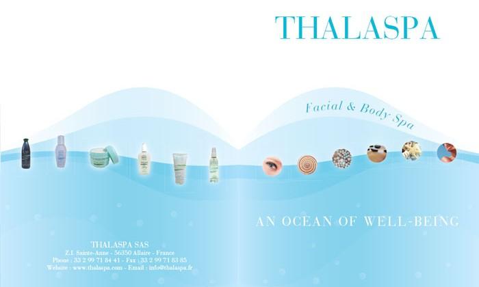 Propositions design pour catalogue Thalaspa