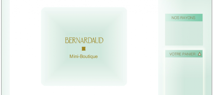 Boutique en flash Bernardaud